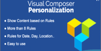 For personalization visual composer