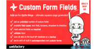 Form fields add on ninja optin for form