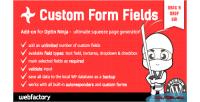 Form fields add on ninja optin for form