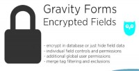 Forms gravity encrypted fields
