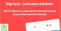 Forms ninja confirmation reminder