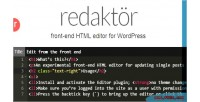 Front redaktor editor html end