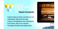 Fullpage parallax scroll addon composer visual for
