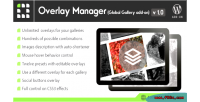 Gallery global overlay on add manager