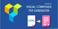Generator pdf addon for wordpress page wpbakery builder composer visual formerly