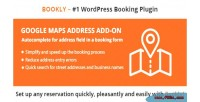 Google bookly maps address on add