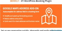 Google bookly maps address on add