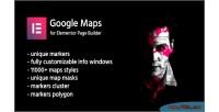 Google creamaps elementor for maps