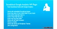 Google soundcloud plugin wp analytics