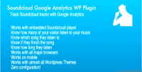 Google soundcloud plugin wp analytics