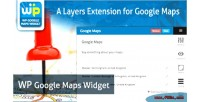 Google wp maps widget