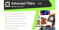 Grid media advanced on add filters