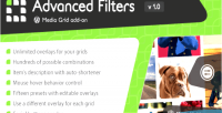 Grid media advanced on add filters