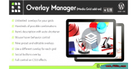 Grid media overlay on add manager