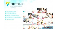 Grid portfolio filter visual grid wordpress addon composer