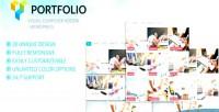 Grid portfolio filter visual grid wordpress addon composer