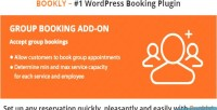 Group bookly booking on add