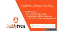 Groups buddypress password