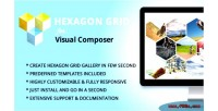 Hexagon grid gallery addon composer visual for