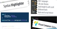 Highlighter syntax composer visual for