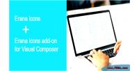 Icons erana font composer visual for