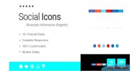 Icons social addon for wpbakery builder page formerly composer visual