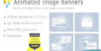 Image animated banners composer visual for