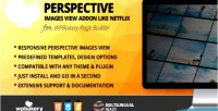 Image perspective view for addon builder page wpbakery