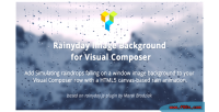 Image rainyday background composer visual for
