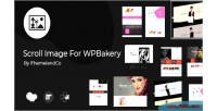 Image scroll for wpbakery builder page composer visual