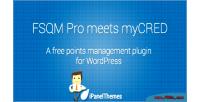 Integration mycred pro fsqm for