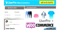 Integration woocommerce for userpro