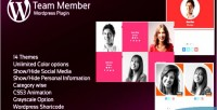 Interactive jag team plugin wordpress members