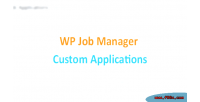 Job wp application custom manager