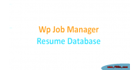 Job wp database resume manager