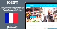 Jobify wp job manager translation french bundle