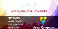 Lax background addon for wordpress composer visual