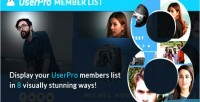 Layouts memberlist for userpro
