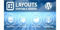 Layouts sortable addon