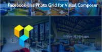 Like facebook photo composer grid visual for