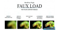 Load faux progressive plugin image wordpress loading