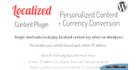 Localized wordpress visitor currency content plugin shortcodes conversion