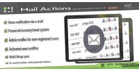 Mail privatecontent on add actions