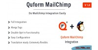Mailchimp quform integration