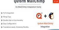 Mailchimp quform integration