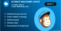 Mailchimp ultimate layout