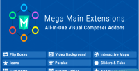 Main mega extensions all one in addons composer visual