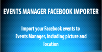 Manager events facebook importer