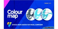 Map colour google addon maps composer visual for