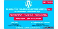 Marketing ms tools advance popup live facebook chat feedback notificati web tool